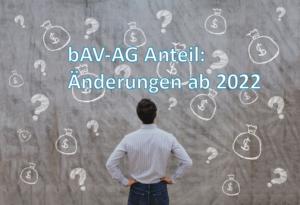 Ab 2022 ist ein Arbeitgeberzuschuss zur betrieblichen Altersvorsorge verpflichtend